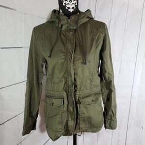 BP womans utility jacket size M